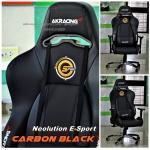 Neolution E-Sport AKracing Gaming Chair Premium V2 Carbon black