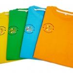 เสื้อกีฬาสี ผ้าใยไผ่ โรงเรียนเซนต์ฟรังเมืองทอง