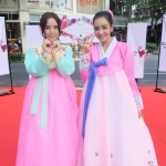 Silk Hanbok เกรด A+++ ฮันบกผ้าไหมเกาหลี รุ่นน้องกระต่าย Lovely pink
