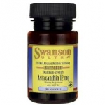 Swanson Ultra Maximum Strength Astaxanthin 12 mg / 30 Sgels