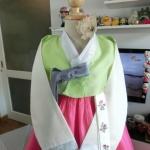 พู่ประดับชุดฮันบก รุ่นผ้าปัก สวยงามน่ารัก