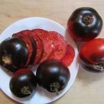 มะเขือเทศอินดิโกบลูเบอร์รี่ - Indigo Blue Berry Tomato