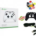 จอย Xbox One S Gen3 Controller (Wireless & Bluetooth) (ซิลิโคนอนาล็อก + ซิลิโคนจอย + สาย Micro USB) [XBOXONE/PC]
