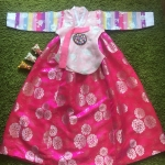 Hanbok Girl ฮันบกชาววังสีหวาน สำหรับเด็ก 10 ขวบ