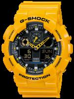 นาฬิกา คาสิโอ Casio G-Shock Standard Analog-Digital Bubble Bee รุ่น GA-100A-9A สินค้าใหม่ ของแท้ ราคาถูก พร้อมใบรับประกัน