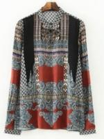 GW5808004 เสื้อเชิ้ตผู้หญิง วินเทจเกาหลี(พรีออเดอร์)รอสินค้า 3อาทิตย์หลังโอนเงิน