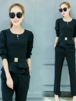 UP5910003 เสื้อชุดกางเกงสูททำงานสำหรับสาวมั่น งานนำเข้าเกาหลี (พรีออเดอร์)