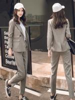 UP6011001 เสื้อชุดสูททำงานผู้หญิงเกาหลีกางเกงขายาว