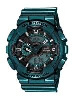 นาฬิกา คาสิโอ Casio G-Shock Limited Models Neo Metallic Series รุ่น GA-110NM-3A สินค้าใหม่ ของแท้ ราคาถูก พร้อมใบรับประกัน