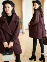 CW6010005 เสื้อโค้ทผู้หญิง เสื้อกันหนาวเกาหลีเสื้อคลุมแขนยาวฤดูใบไม้ร่วง(พรีออเดอร์)