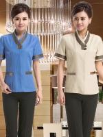 D6002001 ชุดพนักงานทำความสะอาดโรงแรม รีสอร์ทร้านอาหาร (พรีออเดอร์) รอสินค้า 3 อาทิตย์หลังโอน
