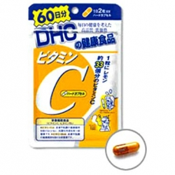 DHC Vitamin C (60วัน) ผิวกระจ่างใส ลดฝ้า ลดจุดด่างดำ ป้องกันหวัด คุณภาพเกินราคา *ยอดขายถล่มถลายขายดีอันดับ 1 ในญี่ปุ่นค่ะ