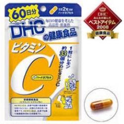 60วัน DHC vitamin C ช่วย ให้ผิวพรรณสดใส มีน้ำมีนวล ช่วยทำให้เลือดไหลเวียนดีขึ้น และยังช่วยให้ใบหน้าดูผุดผ่อง ไม่หมองคล้ำ โดยเฉพาะผู้สูบบุหรี่และดื่มเหล้า คนที่เป็นภูมิแพ้ทานเรื่อยๆอาการจะดีขึ้น