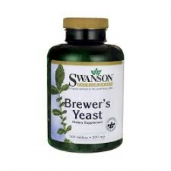 Swanson Premium Brewer's Yeast 500 mg /500 Tabs