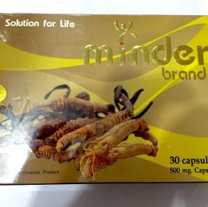 อาหารเสริม Minder Brand 30 เม็ด(ชะลอหลั่ง,บำรุงร่างกาย)