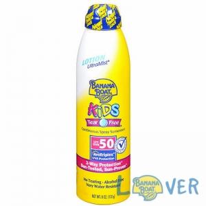 สเปรย์กันแดดสำหรับผิวบอบบาง-เด็ก Banana Boat Kids UltraMist Suncscreen Spray SPF50 PA+++ 175 ml