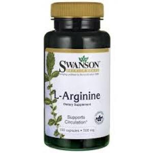 Swanson Premium L-Arginine 500 mg / 100 Caps