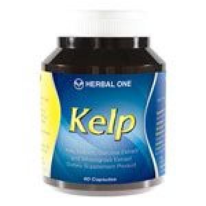 Kelp สารสกัดจากสาหร่ายเคลป์, ผลส้มแขกและใบข้าวสาลี 60 capsule