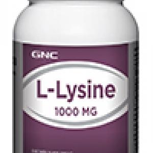 GNC L-LYSINE 1000 mg จีเอ็นซี แอล-ไลซีน 1000 มก. 90 Tablets Code: 010412 เลขทะเบียน อย. 10-3-02940-1-0087