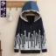 KW5810001เสื้อแจ็กเก็ตกันหนาวมีฮูด พิมพ์หมวกลูกไม้สาวสดนักเรียนมัธยม (พรีออเดอร์) รอ 3 อาทิตย์หลังชำระเงิน thumbnail 3