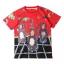 """เสื้อยืด Dolce & Gabbana T-Shirt สีแดง พิมพ์ลาย """"ลิงน้อย"""" สามตัว thumbnail 1"""
