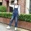 OW6003002 เอี้ยมยีนส์ผู้หญิง ขายาว จั้มปลายขารุ่นผ้ากันเปื้อน (พรีออเดอร์) thumbnail 3