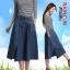 BW5710001 กระโปรงยีนส์สาวเกาหลี บานหวาน (พรีออเดอร์) รอ 3 อาทิตย์หลังโอนเงิน thumbnail 1