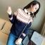 QW5709003 เสื้อกันหนาว ไหมพรมลายวินเทจ คอกลม วินเทจ แฟชั่นเกาหลี (พรีออเดอร์) รอ 3 อาทิตย์หลังโอนเงิน thumbnail 4
