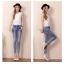 JH6101003 กางเกงยีนส์ สไตร์สาวเกาหลี ขา 9 ส่วน แต่งลูกปัด (พรีออเดอร์) thumbnail 4