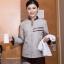 D6002003 ชุดพนักงานทำความสะอาดโรงแรม รีสอร์ทร้านอาหาร (พรีออเดอร์) รอสินค้า 3 อาทิตย์หลังโอน thumbnail 3