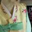 "Silk Hanbok พรีเมี่ยมฮันบกผ้าไหมเกาหลี patel อก 40"" สูง 165 thumbnail 8"