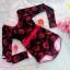[Free size] ชุดว่ายน้ำวันพีชแขนยาว รุ่น Kanya สีดำลายดอกกุหลาบ thumbnail 6