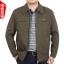 J6011001 เสื้อแจ็กเก็ตคอปกผู้ชาย (พรีออเดอร์) รอสินค้า 3 อาทิตย์หลังโอน thumbnail 1