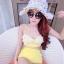 [Size S,M] Daisy set (สีเหลือง) ชุดว่ายน้ำ ทูพีทแนววินเทจ thumbnail 1
