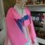 Silk Hanbok เกรด A+++ ฮันบกผ้าไหมเกาหลี รุ่นน้องกระต่าย Lovely pink thumbnail 7