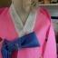 Silk Hanbok เกรด A+++ ฮันบกผ้าไหมเกาหลี รุ่นน้องกระต่าย Lovely pink thumbnail 5