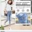 JW5909004 กางเกงยีนส์แฟชั่นเกาหลี ขายาวฮาเร็มของนักเรียน (พรีออเดอร์) รอ 3 อาทิตย์หลังโอนเงิน thumbnail 3