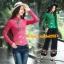 UM6102021 เสื้อยืดแขนยาวโมฮีเมียน เย็บปักถักร้อยชาติพันธุ์ thumbnail 2