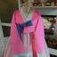 Silk Hanbok เกรด A+++ ฮันบกผ้าไหมเกาหลี รุ่นน้องกระต่าย Lovely pink thumbnail 4