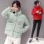 CW5909016 เสื้อโค้ทผู้หญิงหวานเกาหลีตัวสั้นสไตร์เสื้อแจ๊กเก็ต(พรีออเดอร์) รอ 3 อาทิตย์หลังโอนเงิน thumbnail 4
