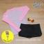 [Size S,M] ชุดว่ายน้ำ แขนยาว รุ่น Minerva (สีม่วงแขนสีชมพู) และ ขาสั้น thumbnail 1