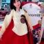 Princess Hanbok แบบชาววัง (ทังอี) สีเหลืองทอง ตัดแดง สวยอลังการ thumbnail 10