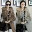 KW5709015 เสื้อคลุม กันหนาว ผ้าขนสัตว์ อบอุ่นมาก แฟชั่นเกาหลี (พรีออเดอร์) รอ 3 อาทิตย์หลังโอน thumbnail 1