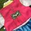 Hanbok Girl ผ้าไหมสีสดใส สำหรับเด็ก 6 ขวบ thumbnail 4