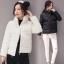 CW5909016 เสื้อโค้ทผู้หญิงหวานเกาหลีตัวสั้นสไตร์เสื้อแจ๊กเก็ต(พรีออเดอร์) รอ 3 อาทิตย์หลังโอนเงิน thumbnail 1