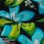 (XL) ชุดว่ายน้ำลายดอก กราฟฟิคสีสรรสดใสช่วยพรางหุ่น ทรงจีบอก สายผูก สองสีให้เลือก thumbnail 4