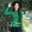 UM6102021 เสื้อยืดแขนยาวโมฮีเมียน เย็บปักถักร้อยชาติพันธุ์ thumbnail 1