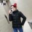 CW5909017 เสื้อโค้ทผู้หญิงหวานเกาหลีตัวสั้นสไตร์เสื้อแจ๊กเก็ต(พรีออเดอร์) รอ 3 อาทิตย์หลังโอนเงิน thumbnail 4