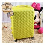 กระเป๋าเดินทางไฟเบอร์ รุ่น TB เหลือง ขนาด 20 นิ้ว