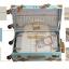 กระเป๋าเดินทางล้อลากวินเทจ รุ่น vintage retro สี Blue เซ็ตคู่ ขนาด 12+24 นิ้ว thumbnail 8